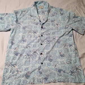 2/$15 Mens Size Large Hawaiian Shirt